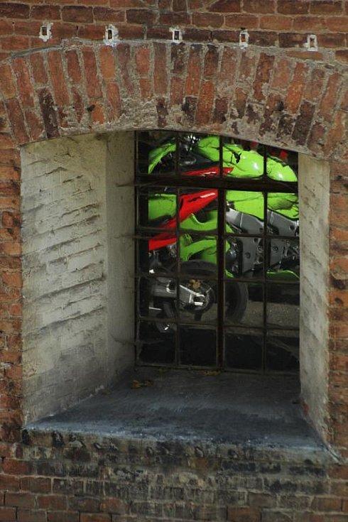 Motorkáři v Křelově