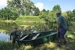 Sucho nebo přívalové deště. Obojí v těchto dnech bezprostředně ohrožuje životy ryb v tocích. Po nedělních přívalových deštích na Olomoucku rybáři vylovili z Moravy u Tážal metráky rybích mrtvol.
