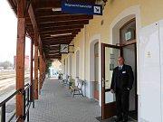 Opravené nádraží v Uničově