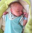 Vladimír Dirda, Moravský Beroun, narozen 24. prosince ve Šternberku, míra 49 cm, váha 3380 g