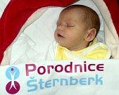 Matěj Soldán, Lomnice u Rýmařova, narozen 6. ledna ve Šternberku, míra 50 cm, váha 3950 g