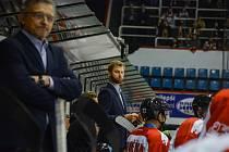 Trenéři HC Olomouc se hodili do gala. Na snímku Jan Littner.