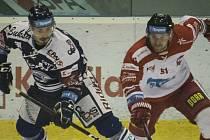 HC Olomouc proti Vítkovicím. Ilustrační foto
