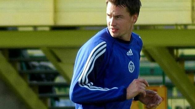 Martin Horák na tréninku HFK