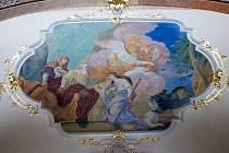 Zrestaurovaná kaple Anděla strážce v chrámu Panny Marie Sněžné v Olomouci