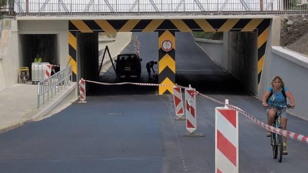 Uzavírka podjezdu v Pasteurově ulici v Olomouci skončí 18. června