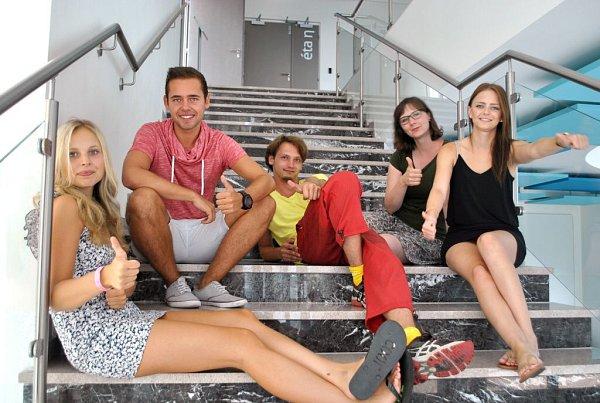 Studenti Moravské vysoká školy Olomouc