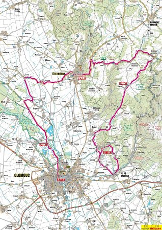4. etapa Czech Cycling Tour 2013