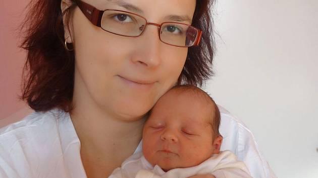 Kateřina Spáčilová, Křelov, narozena 15. března v Olomouci, míra 50 cm, váha 2980 g