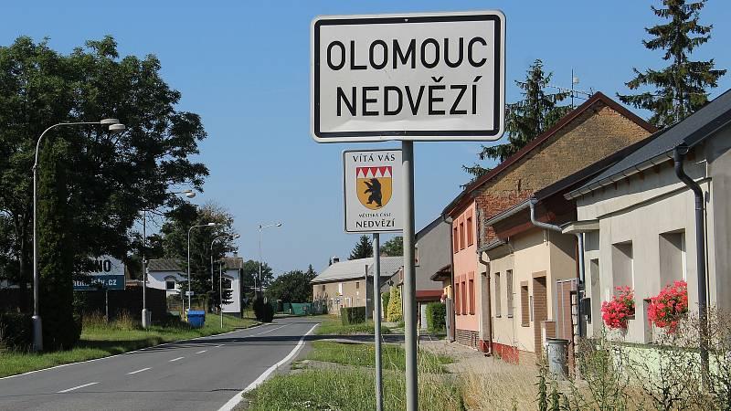 Olomoucká místní část Nedvězí
