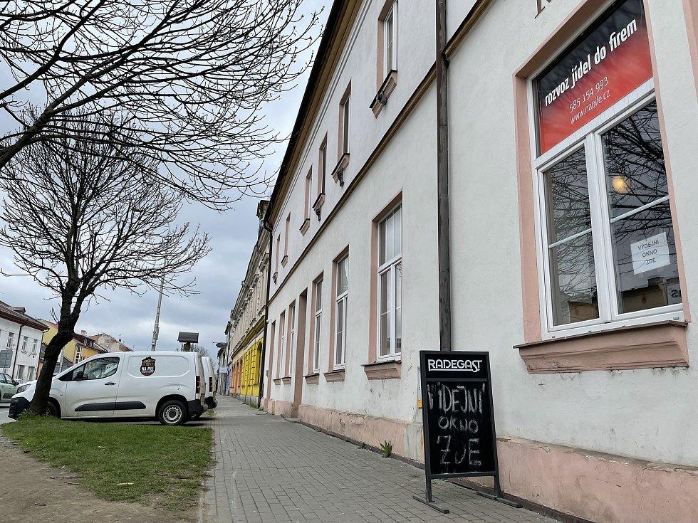Restaurace & pizzerie NA PILE v Olomouci, 16. dubna 2021