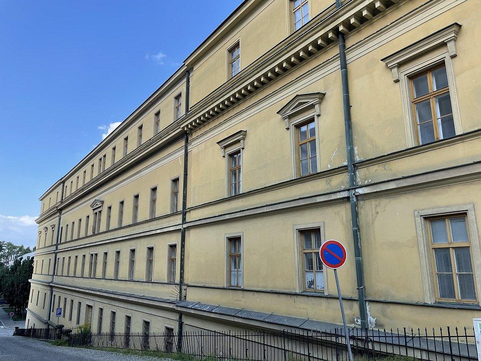 Hanácká kasárna v Olomouci, září 2021
