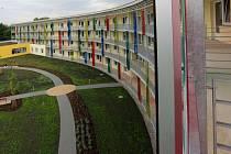 Nová budova domova pro seniory v olomoucké čtvrti Chválkovice