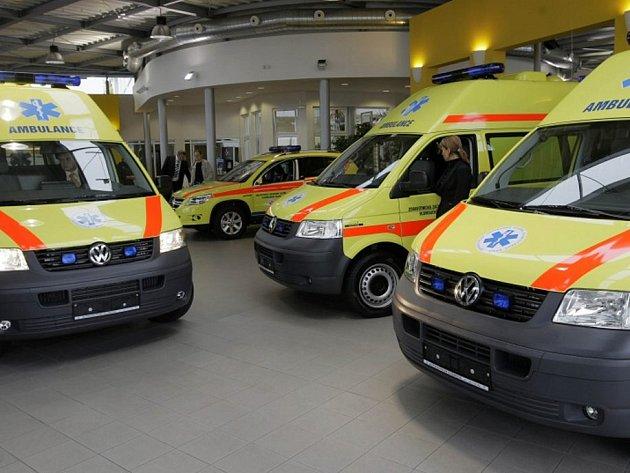Záchranná služba posílila o čtyři sanitky.