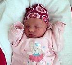 Viktorie Štýbnarová, Tři Dvory, narozena 14. února ve Šternberku, míra 47 cm, váha 2520 g