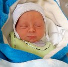 Matěj Šperlík, Šternberk narozen 30. května míra 47 cm, váha 2920 g