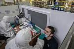 Testování ve firmách. Ilustrační foto