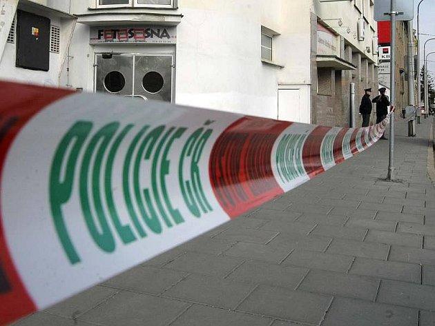 Přepadení pobočky banky v Litovelské ulici
