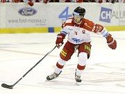 Olomoucký hokejista Jan Eberle.