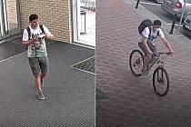 Policie hledá tohoto muže v souvislosti s krádežemi kol v Olomouci