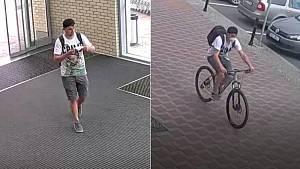 Policie hledá muže zachyceného kamerami v souvislosti s krádežemi kol v Olomouci
