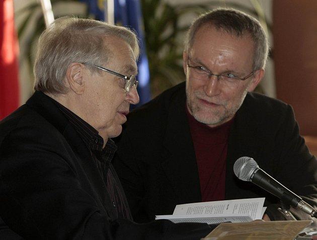 Pavel Kohout a Lubomír Machala.