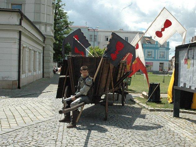 Husité ukázali hradbu v Uničově.