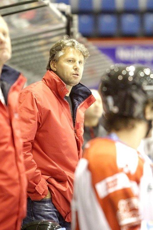 Asistent trenéra Olomouce Jan Tomajko.