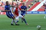 Slavia proti Sigmě Olomouc