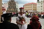 Hanácká svatba na Horním náměstí v Olomouci