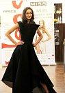 Natálie Fajtová, Střední škola designu a módy, Prostějov. Představení finalistek Miss OK 2016 v Beauty Café v Olomouci