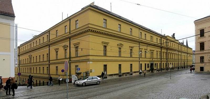 Hanácká kasárna v Olomouci.