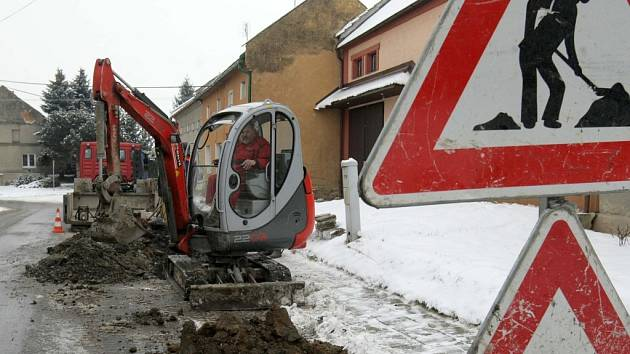 Prasklé potrubí