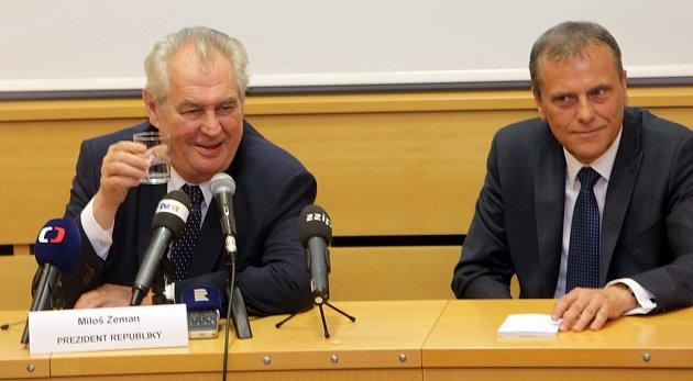 Prezident na návštěvě Olomouckého kraje - Olomouc, 18.května 2016
