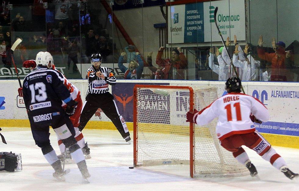 HC Olomouc - Plzeň 4:1. Šesté čtvrtfinále