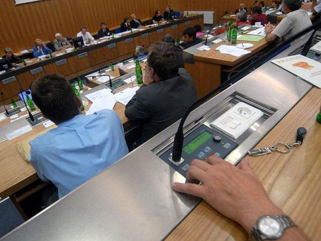 Jednání olomouckého zastupitelstva. Ilustrační foto.