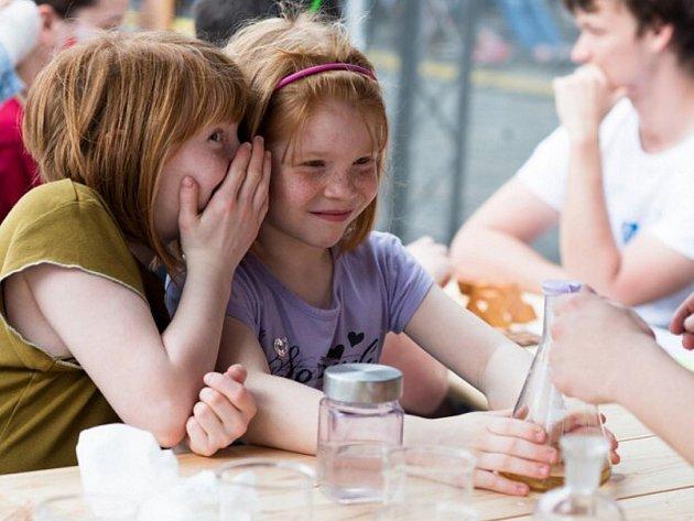 Dětská zóna na Garden Food Festivalu