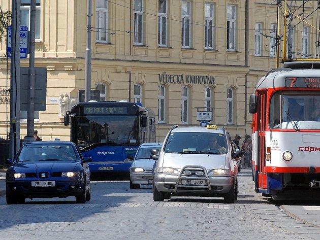 Olomoucká třída Svobody.