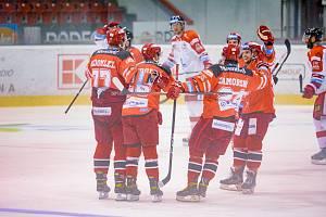Hokejisté Olomouce v prvním zápase letního Česká Generali Cupu nestačili na Hradec Králové v poměru 2:5.