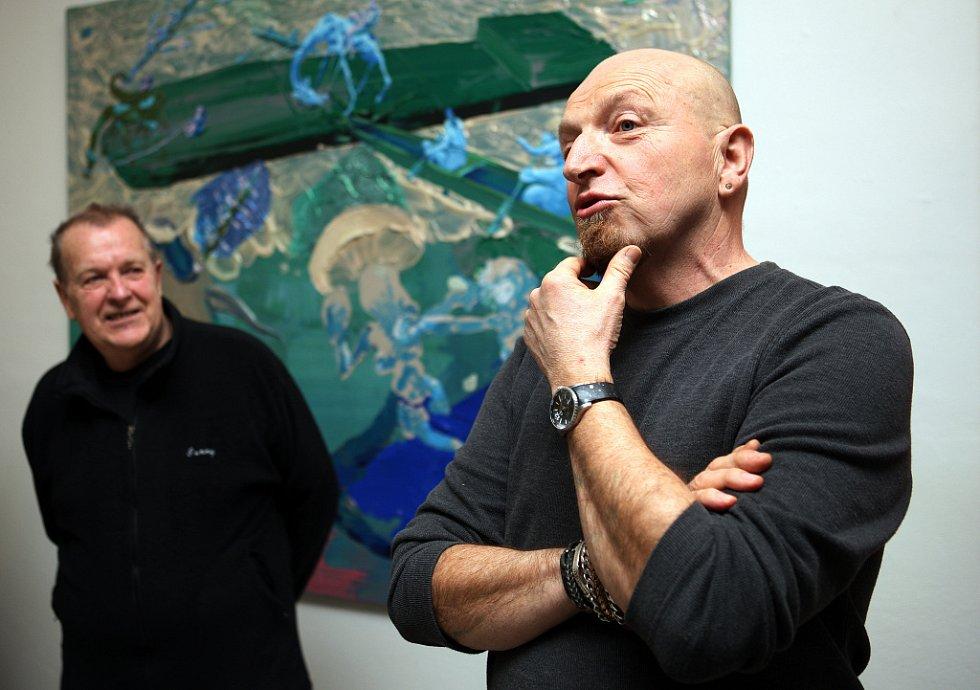 Rittstein zahájil Masturbaci s Polívkou a Němcem.