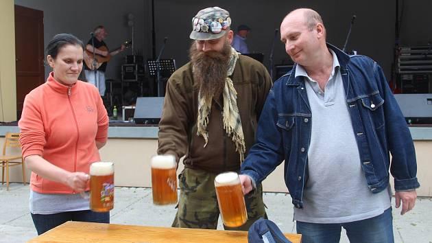 Čtvrtý ročník svátku pivovaru Jadrníček v Náměšti na Hané s názvem Jadrošův den.