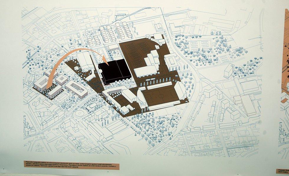 Projekt studentů brněnské architektury ukazuje, jak by mohla vypadat olomoucká třída Svobody. Výstava v Galerii Caesar