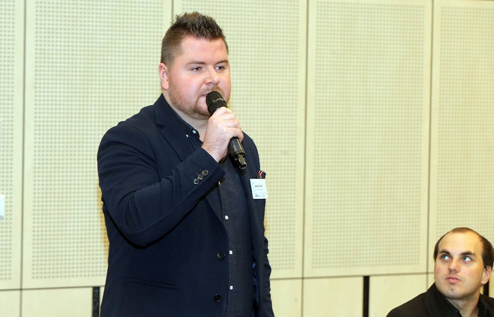Šéfredaktor Olomouckého deníku Ondřej Dluhí