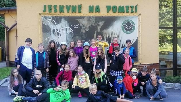 Stmelovací pobyt vpenzionu Pod Smrkem vHorní Lipové žáků ZŠ Zeyerova, Olomouc.