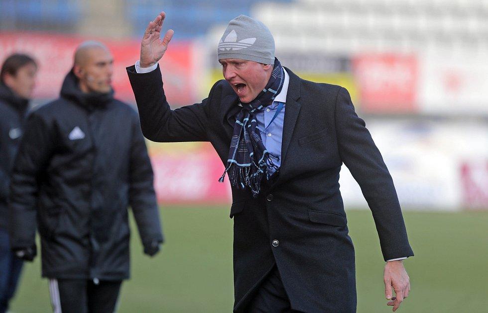 Trenér Sigmy Václav Jílek.