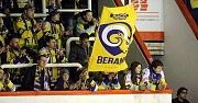 Fanoušci na zápase HC Olomouc - PSG Zlín