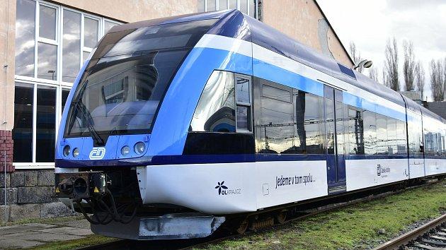 Vlaková jednotka Stadler Pankow Českých drah
