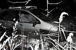Tragická nehoda Renaultu Scénic u Troubelic