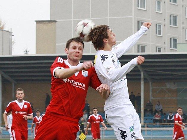 Fotbalisté SK Uničov proti Slovácku B
