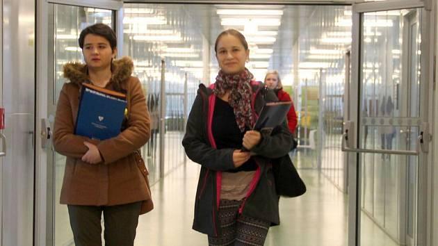 Den otevřených dveří na UP Olomouc - přírodovědecká fakulta. Ilustrační foto